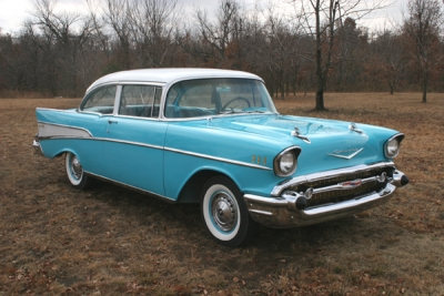 1957 Chevy BelAir - Nov 2011