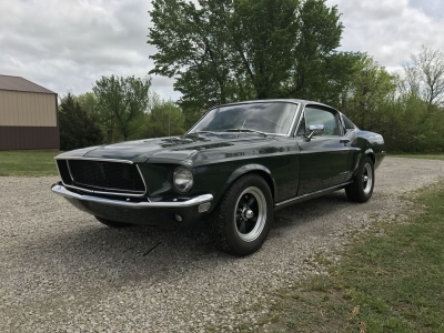 1968 Mustang Fastback - Bullitt replica  April 2017