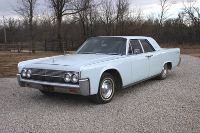 1963 Lincoln Continental - January 2012
