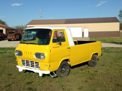 61 Ford Econoline Pickup - April 2016