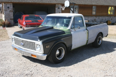 1972 Chevy C-10 - March 2014