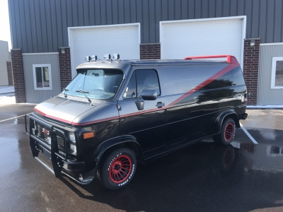 A-Team Van replica #7